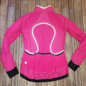 Lululemon reflective Windbreaker Running Jacket 10